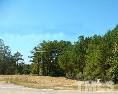 Wake County Residential Lots & Land For Sale: Main Street