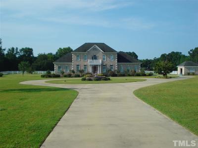 Harnett County Single Family Home For Sale: 562 Harvell Road