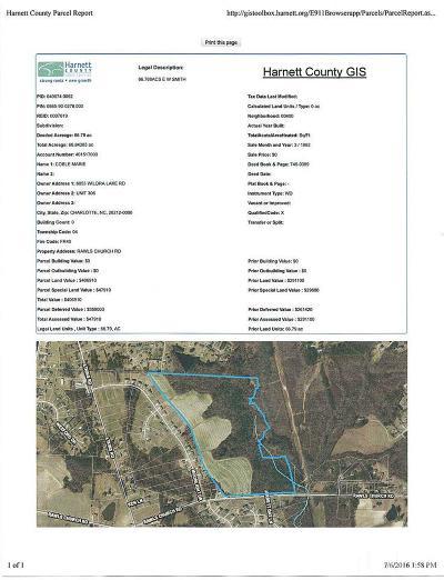 Fuquay Varina Residential Lots & Land Pending: 2470 Rawls Church Road