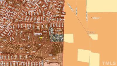 Mebane Residential Lots & Land For Sale: S Lane Street