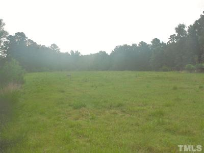 Durham County Residential Lots & Land For Sale: 1409 Doc Nichols Road