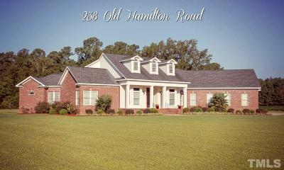 Harnett County Single Family Home For Sale: 238 Old Hamilton Road