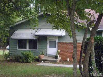 Cary Single Family Home Pending: 209 E Johnson Street East