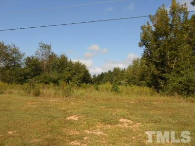 Johnston County Residential Lots & Land For Sale: Barber Mill Road