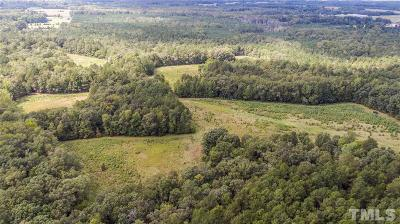 Chatham County Residential Lots & Land Contingent: 192 Otis Johnson Drive