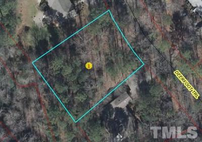 Lee County Residential Lots & Land For Sale: 1144 Deerfoot Trail