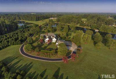 Zebulon Single Family Home For Sale: 723 Moss Road