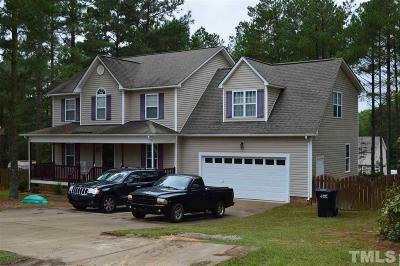 Angier Single Family Home For Sale: 236 Cabin Grove Court