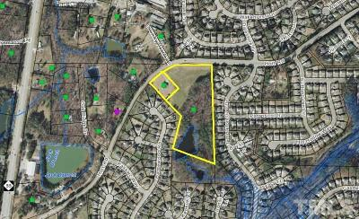 Wake County Residential Lots & Land Contingent: 1745 Holt Road