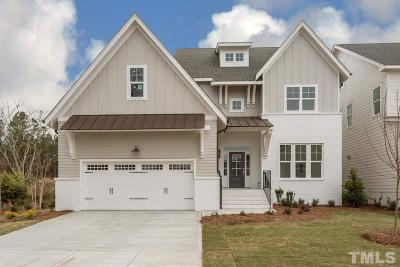 Cary Single Family Home Contingent: 513 Mercer Grant Drive
