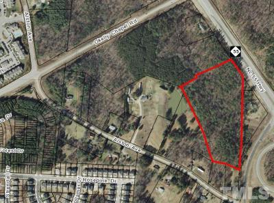Cary Residential Lots & Land Contingent: 4917 Nc 55 Highway