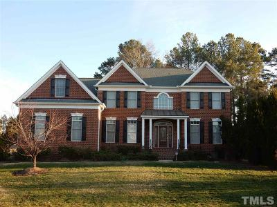 Raleigh Single Family Home Contingent: 9224 Clubvalley Way