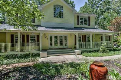 Chapel Hill Single Family Home For Sale: 1004 Maple Ridge Road