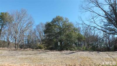 Durham County Residential Lots & Land For Sale: 124 Edward Booth Lane