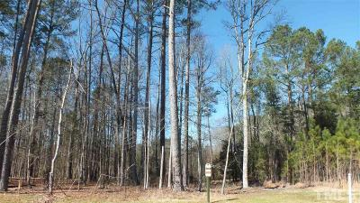 Durham County Residential Lots & Land For Sale: 118 Turner Ridge Circle