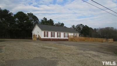 Zebulon Commercial Pending: 1533 Old Us 264 Highway