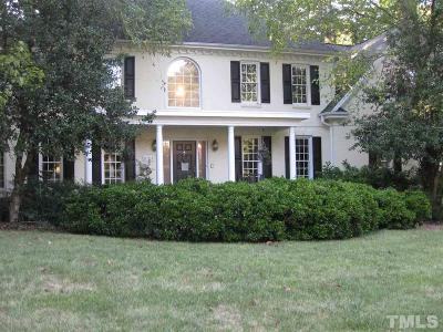 Raleigh Single Family Home For Sale: 8705 Carriage Tour Lane
