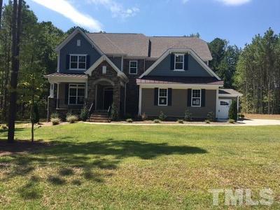 Creedmoor Single Family Home For Sale: 723 Kelsey Way