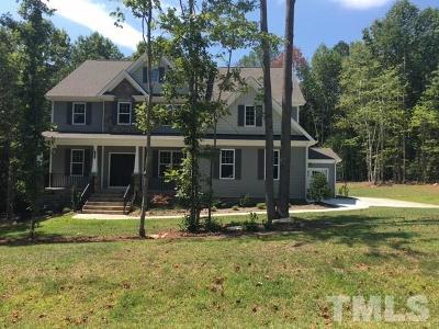 Creedmoor Single Family Home For Sale: 721 Kelsey Way