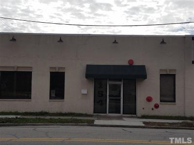 Lee County Commercial For Sale: 154 McIver Street