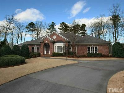 Cary Single Family Home For Sale: 114 Kendleton Place