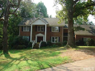 Raleigh Single Family Home Contingent: 3117 Hunters Bluff Drive