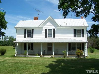 Single Family Home For Sale: 1475 Williamson Road