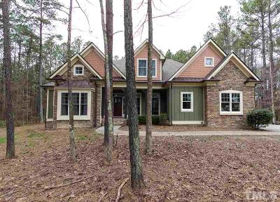 Creedmoor Single Family Home For Sale: 3187 Brassfield Road
