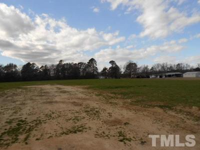 Johnston County Residential Lots & Land Pending: 1337 Cleveland Road