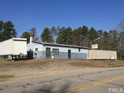 Granville County Commercial For Sale: 9615 Nc 96 Highway