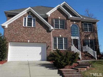 Durham Single Family Home For Sale: 1803 Hemlock Hills Drive