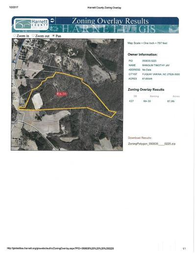 Fuquay Varina Residential Lots & Land For Sale: Cokesbury Road