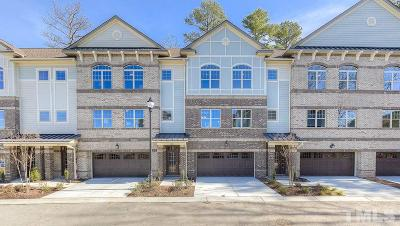 Morrisville Townhouse For Sale: 307 View Drive