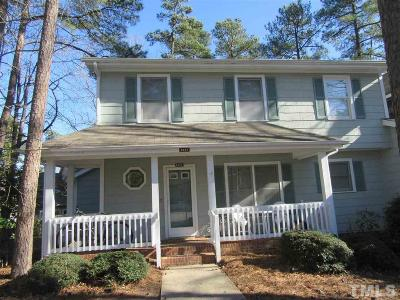 Raleigh Townhouse For Sale: 6237 Fountainhead Drive