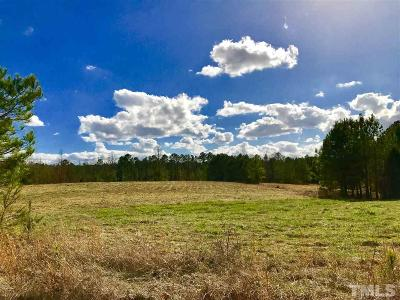 Chatham County Residential Lots & Land Contingent: Alston Road