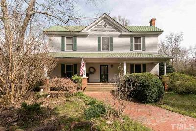 Chatham County Single Family Home Contingent: 370 Cora Lane