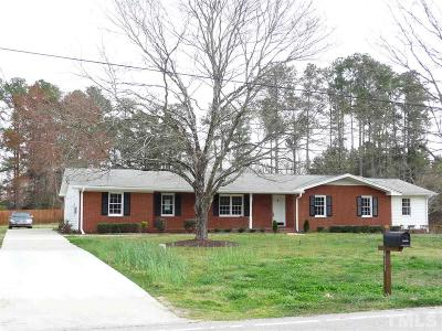 Knightdale Single Family Home For Sale: 411 Bethlehem Road