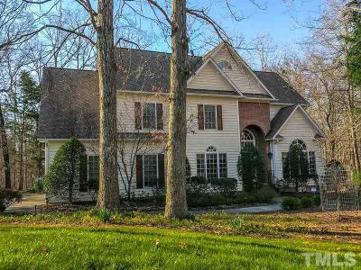 Durham Single Family Home For Sale: 1712 Haddington Drive