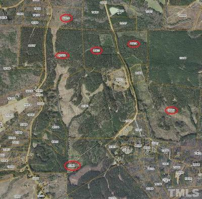 Chatham County Residential Lots & Land For Sale: Gade Bryant Road