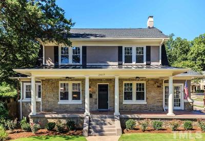 Hayes Barton Single Family Home For Sale: 2417 Fairview Road
