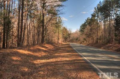 Chatham County Residential Lots & Land For Sale: Bynum Ridge Road