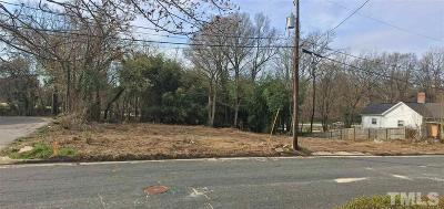 Durham County Residential Lots & Land For Sale: 505-507 Yancey Street