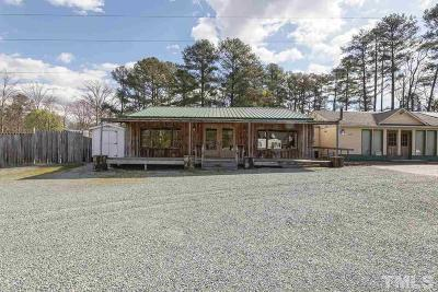 Chatham County Commercial Pending: 2590 Farrington Road