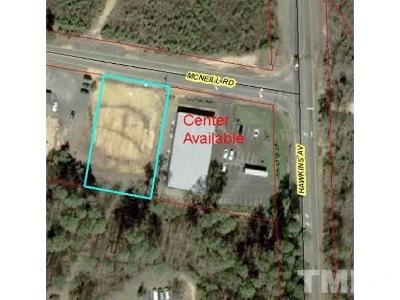 Lee County Commercial Lots & Land For Sale: McNeill Road