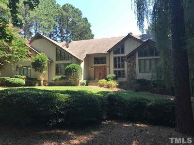 Raleigh Single Family Home For Sale: 1017 White Crane Way