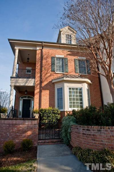 Chapel Hill Townhouse For Sale: 308 W Barbee Chapel Road