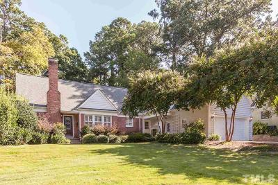 Raleigh Single Family Home Pending: 3220 Bedford Avenue