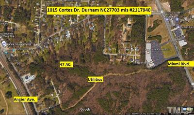 Durham Residential Lots & Land For Sale: 1015 Cortez Drive