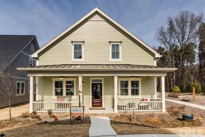 Clayton Single Family Home For Sale: 72 Bladen Place