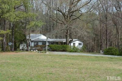 Pittsboro Single Family Home Contingent: 3956 Silk Hope Gum Springs Road